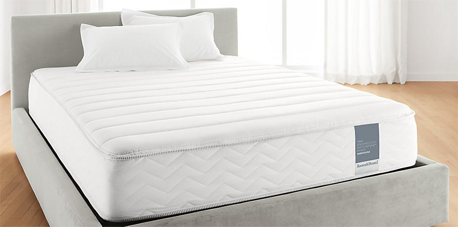 Room And Board Encased Coil Mattress Firm