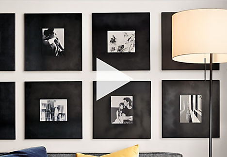 Arrange a Modern Frame Wall - Ideas & Advice - Room & Board