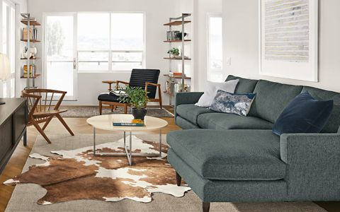 Shop this room with the Jasper Sofa with Chaise
