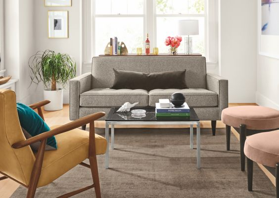 Small Space Sofa U0026 Loveseat Ideas. Shop This Room