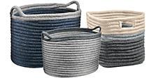 Kori Storage Baskets with Handles