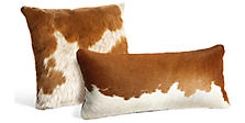 Natural Cowhide Pillows