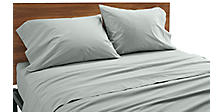 Percale Sheets & Pillowcases in Slate
