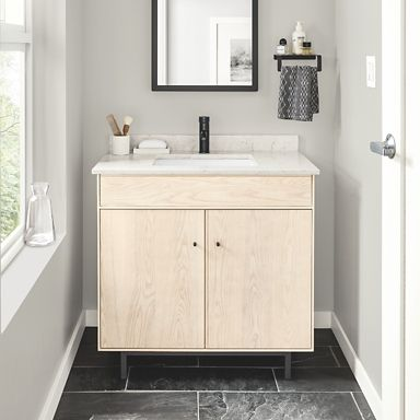 Hudson Bathroom Vanity Cabinets with Top