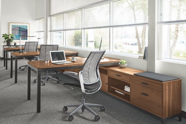 Natural concept small office Interior Design Shop Benching Systems Room Board Modern Office Furniture Office Room Board