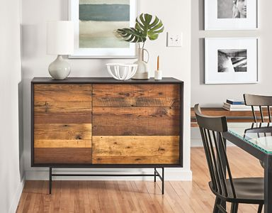 Mckean Storage Cabinets In Reclaimed Wood