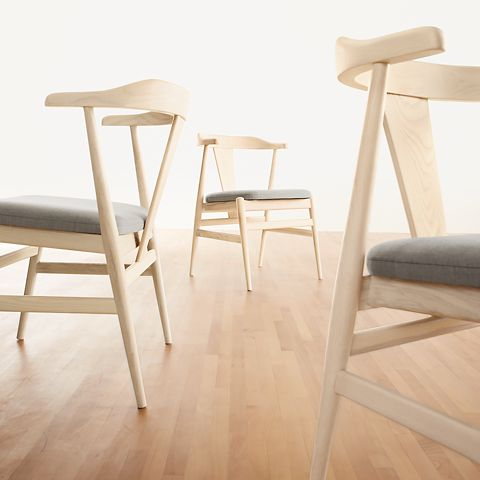 The Evan chair was influenced by Danish design