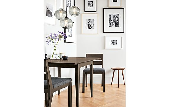 Adams Dining Table with Abra Pendant Group