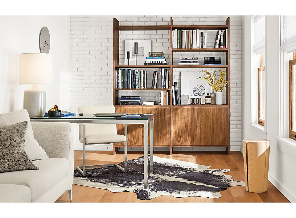 Addison bookcase in modern small office