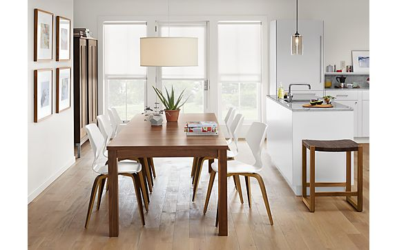 Andover Walnut Table with Pike Chairs