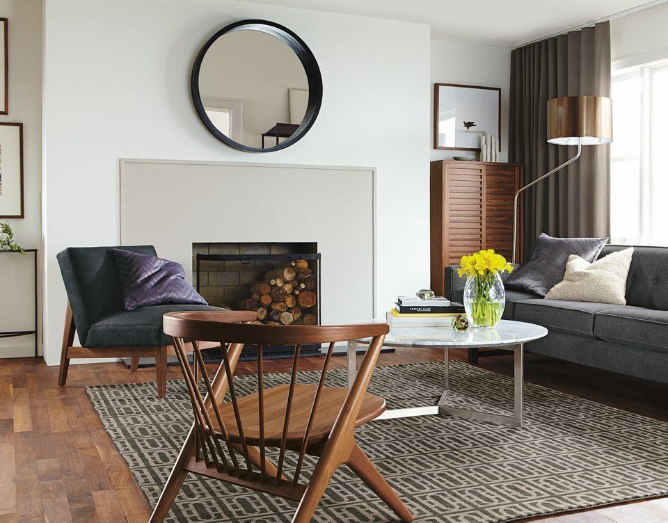 Andrea sofa in Japanese-inspired living room