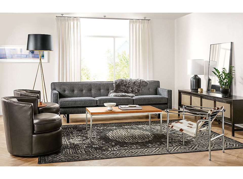 Sofa And Otis Swivel Chairs Living Room