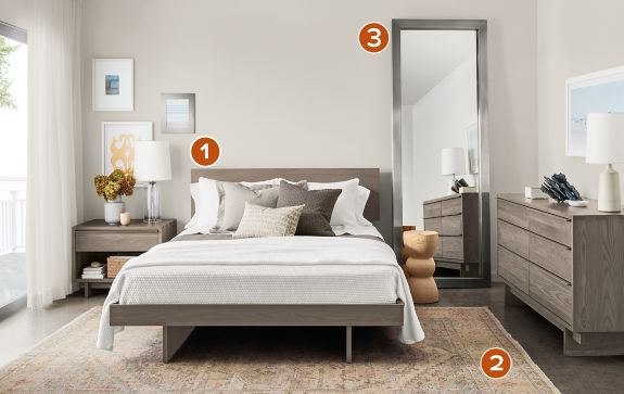 Bedroom Boards Collection anton collection in shell - modern bedroom furniture - room & board