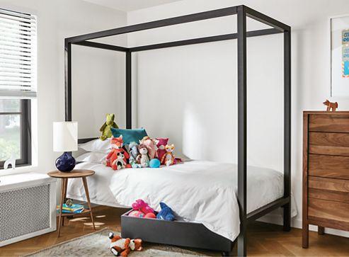 architecture kids bedroom - modern kids furniture - room & board