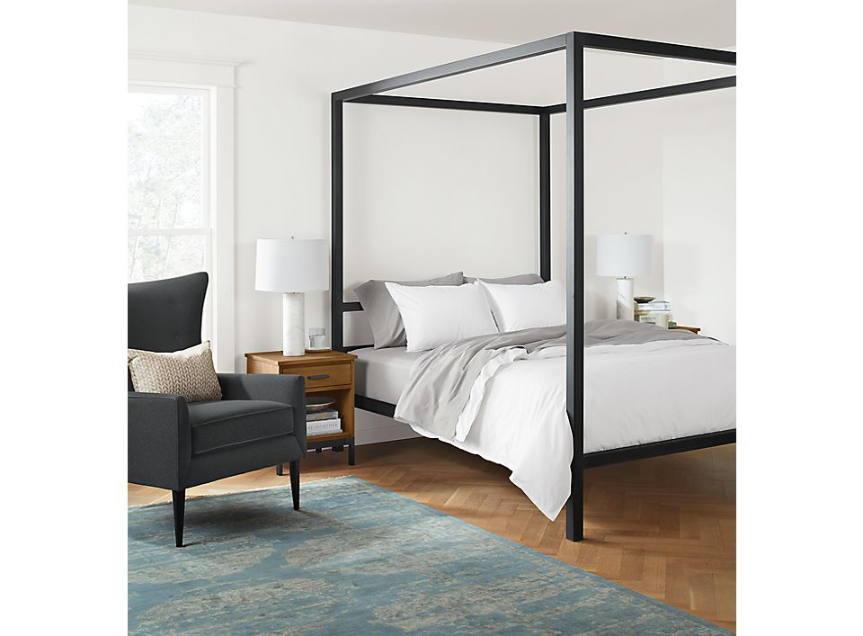 Side View Of Architecture Bed