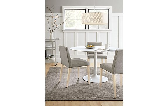 Aria Table with Ava Dining Chairs