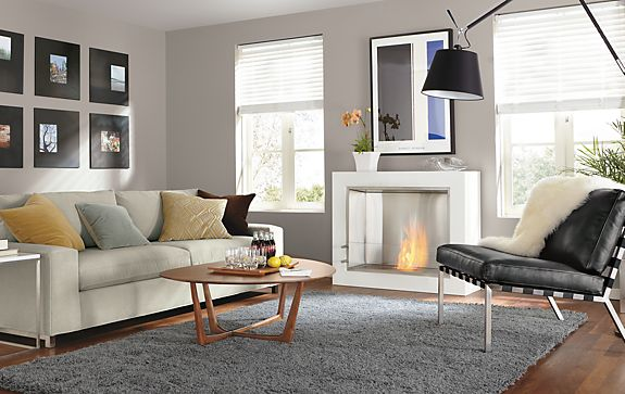 Arden High Shag Rug Living Room - Modern Rugs - Room & Board