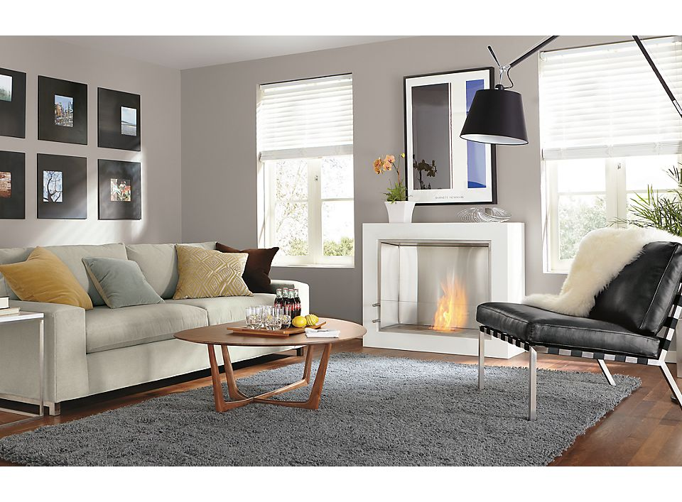 Arden High Shag Rug Living Room - Room & Board