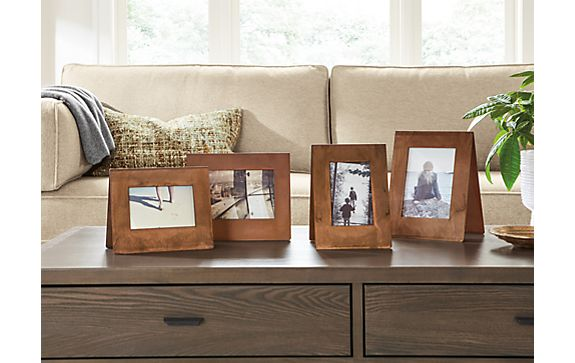 Bend Picture Frames in Patina