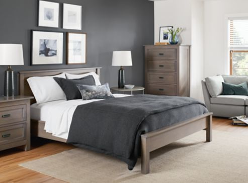 Bedroom Boards Collection bennett collection bedroom in shell - modern bedroom furniture
