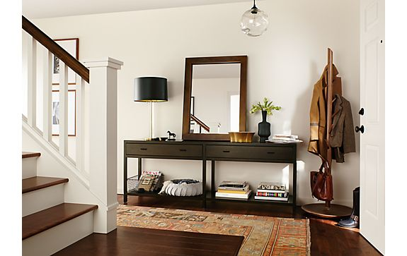 Foyer Table Rooms To Go : Entryway with berkeley console table modern