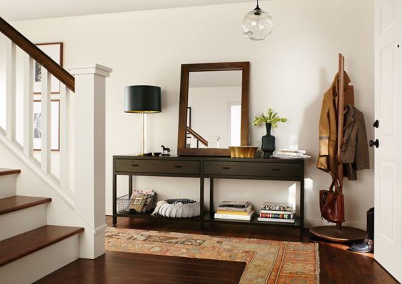 Delightful Entryway With Berkeley Console Table