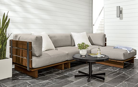 Boardwalk Sectional Outdoor Space