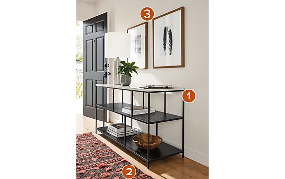 Bowen Console Table Entry Way