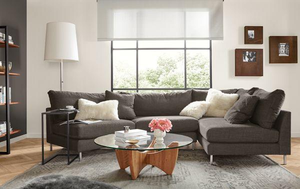 Bryce Sectional Living Room Modern Living Room Furniture Room