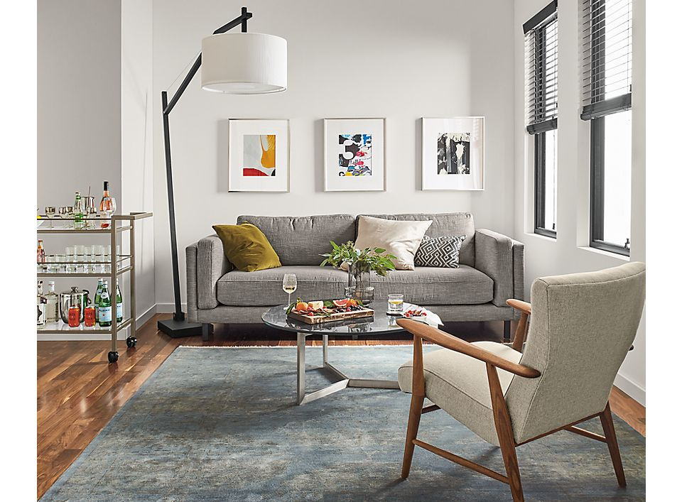 Campebll sofa in small modern living room