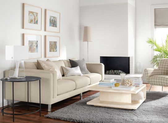Elegant Cade Sofa Living Room