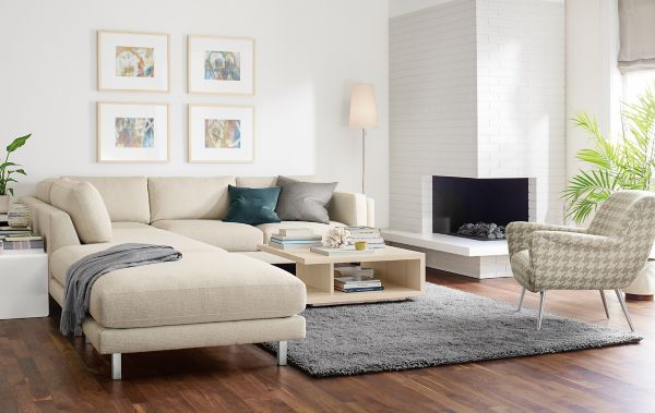 Cade Sectional Living Room Modern Living Room Furniture Room