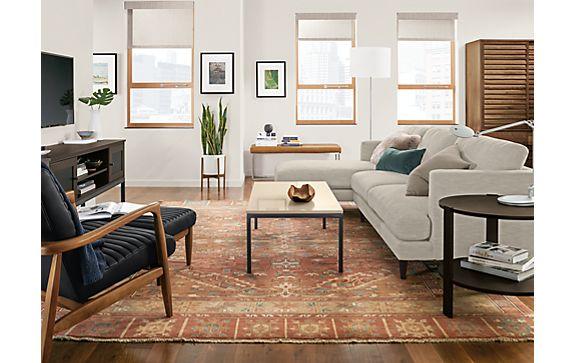 Campbell Sofa with Callan Chair & Ottoman