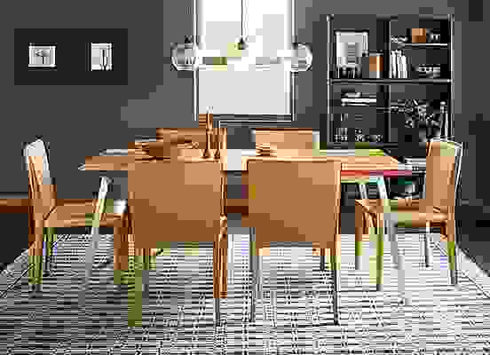 Cass dining table in modern dining room