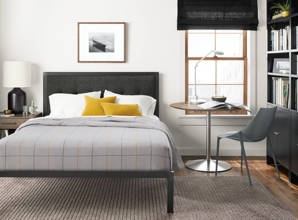 Chapman bed in small space bedroom