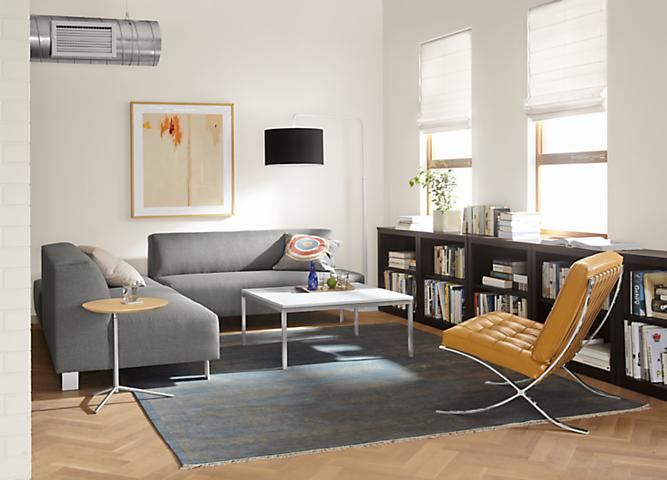 Modular Chelsea sectional in modern living room