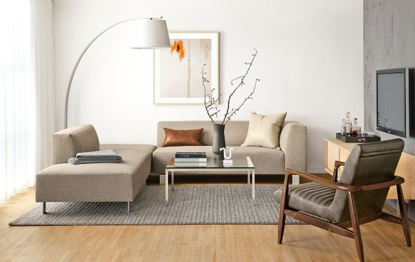 Chelsea Sectional with Callan Chair : room and board sectional - Sectionals, Sofas & Couches