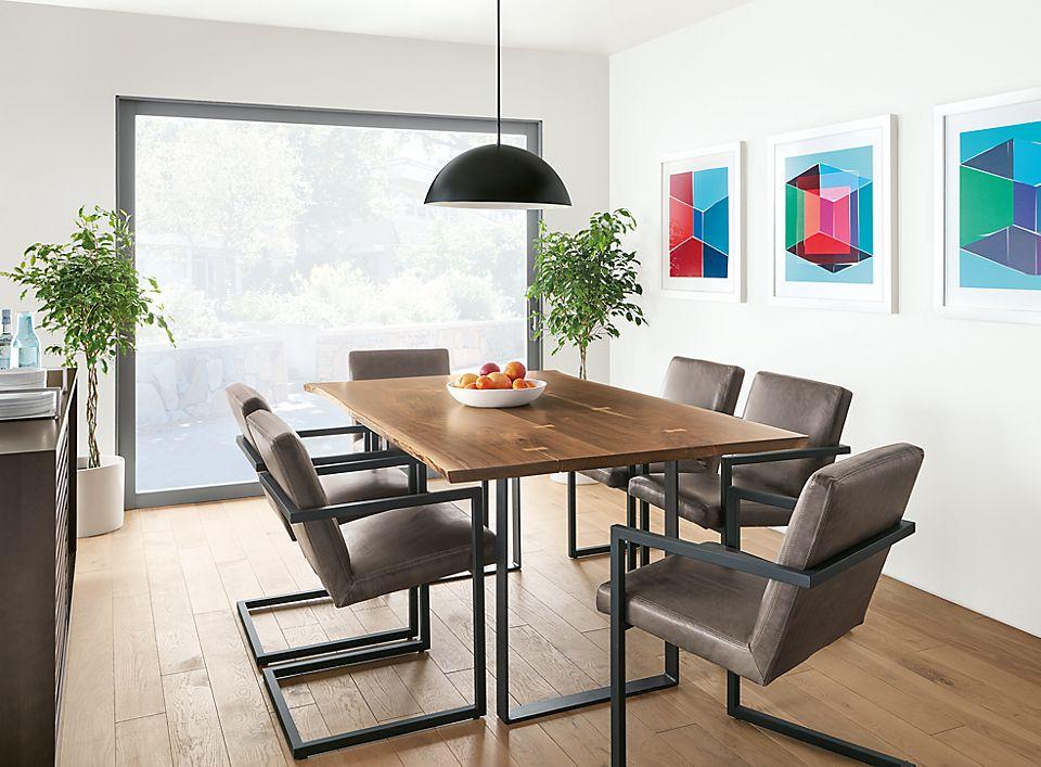 Chilton 84w Table in Walnut