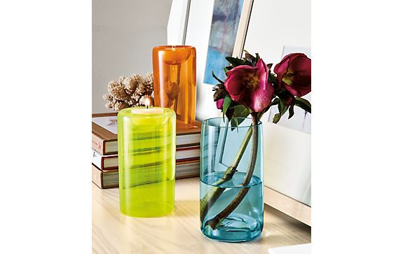 Clarion Glass Vases