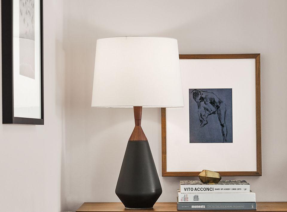 Detail of Cloak table lamp