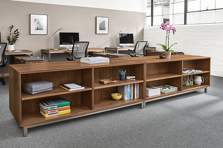 Copenhagen console bookcases in office
