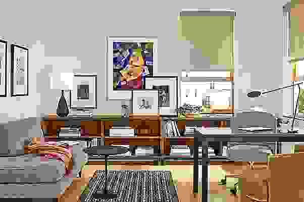 Copenhagen console bookcases in modern office
