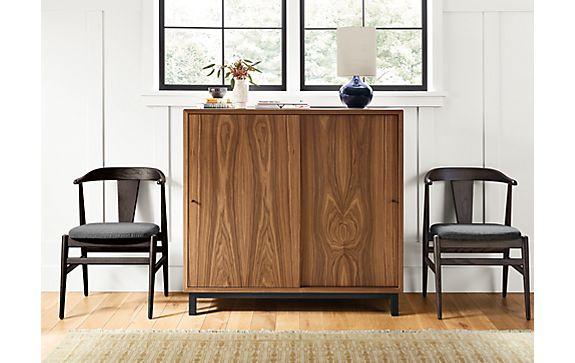 Copenhagen Custom Sliding Door Cabinet