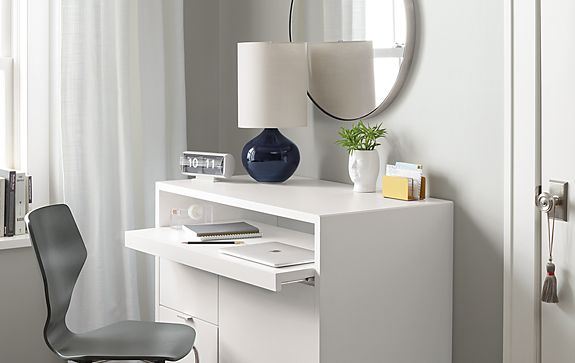 Simone Table Lamp in Midnight
