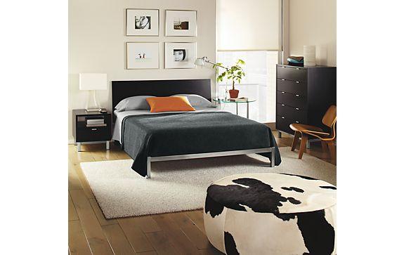 Copenhagen Bedroom in Ebony