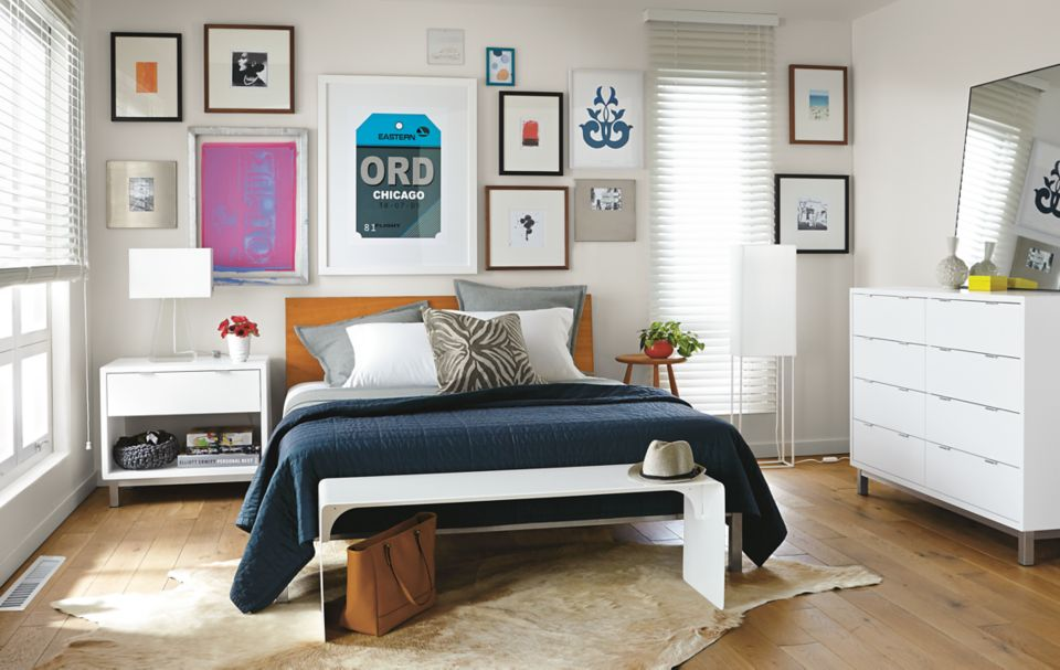 Frames And Art For A Colorful Collage Room Board
