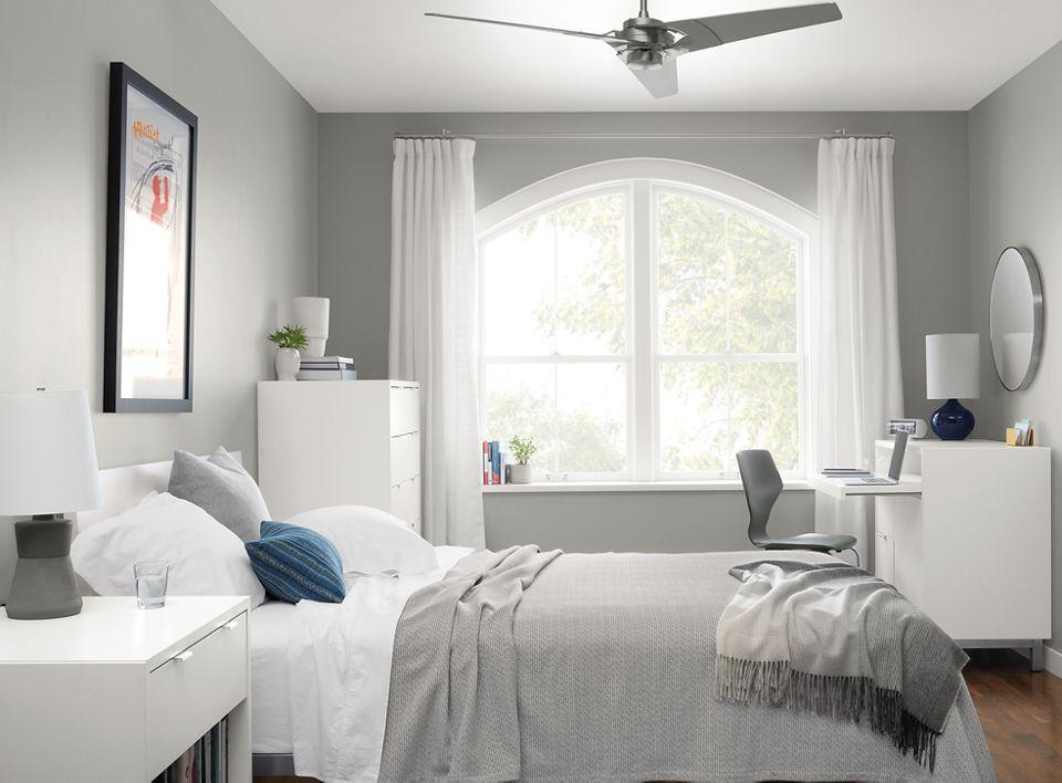 Detail of Copenhagen white bedroom collection