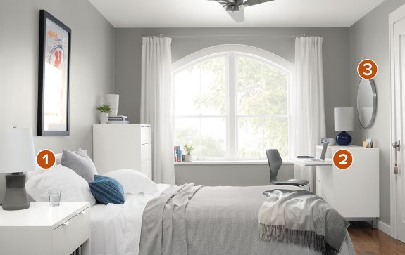 Bedroom Boards Collection copenhagen bedroom collection in white - modern bedroom furniture