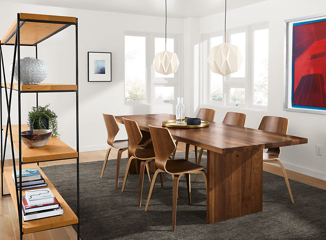 modern dining room furniture room board - Contemporary Dining Room Tables