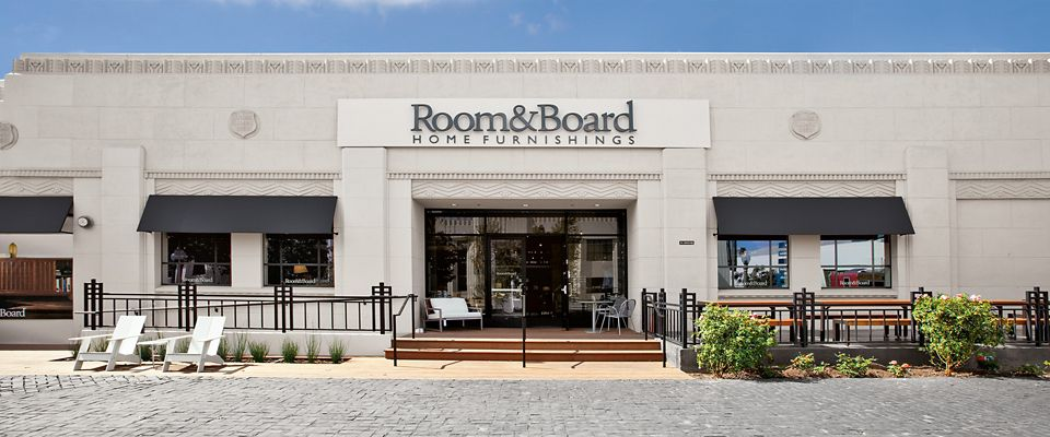 Room & Board Culver City is located in the historic Helms Bakery complex, just south of the Santa Monica Freeway.
